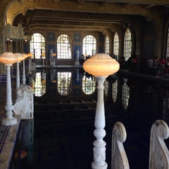 Photo taken at Hearst Castle Roman Pool by Salim M. on 7/25/2014