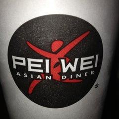 Photo taken at Pei Wei by Ashley on 10/18/2012