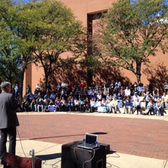 Photo taken at Virginia Commonwealth University (VCU) by Gov. Gary Johnson on 10/11/2012