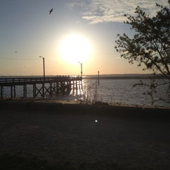 Photo taken at Crescent Beach by Ashley S. on 5/3/2013