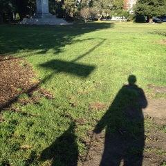 Photo taken at William McKinley Statue by Rena on 12/28/2013