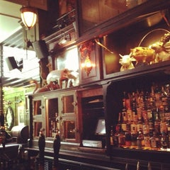 Photo taken at The Breslin Bar & Dining Room by Raj S. on 10/3/2012