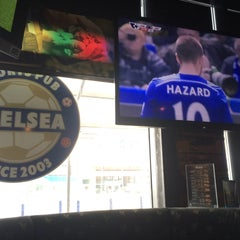 Photo taken at Sport Pub Chelsea by Ibrahim W. on 5/3/2015