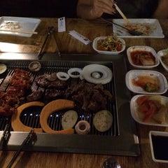 Photo taken at Wharo Korean BBQ by Arun N. on 10/30/2014