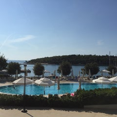 Photo taken at Hotel Istra by Sandra S. on 8/31/2015
