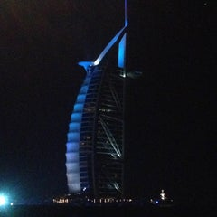 Photo taken at Burj Al Arab by Fatima M. on 5/10/2013