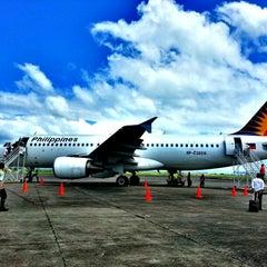 Photo taken at Daniel Z. Romualdez Airport (TAC) by Arman D. on 3/22/2013