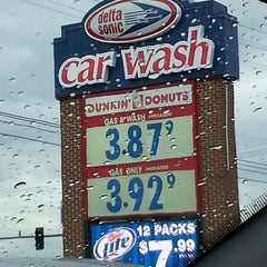 Photo taken at Delta Sonic Car Wash by Javier C. on 7/26/2013