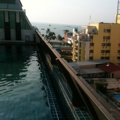 Photo taken at Sunshine Hotel & Residences by Alexandr T. on 3/14/2013
