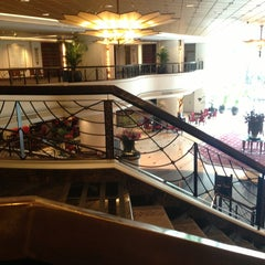 Photo taken at Plaza Athénée Bangkok, A Royal Méridien Hotel by Elle Nuttanicha N. on 7/21/2013