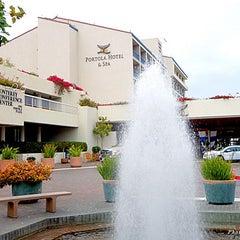 Photo taken at Portola Hotel & Spa by Jetset Extra on 9/12/2013