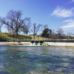 Photo taken at Barton Springs Playground by Mike D. on 2/27/2016