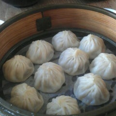 Photo taken at Shanghai Dumpling King by Bailey C. on 9/21/2012