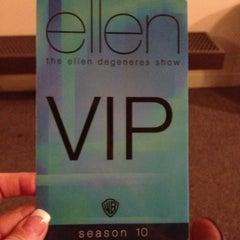 Photo taken at The Ellen DeGeneres Show by Kira F. on 12/11/2012
