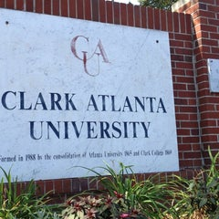 Photo taken at Clark Atlanta University by BTreva on 10/13/2012