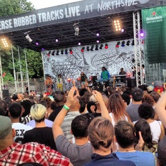 Photo taken at Northside Festival by Jessica S. on 6/16/2013