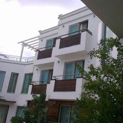 Photo taken at Butikhan Otel by Mert E. on 9/17/2012