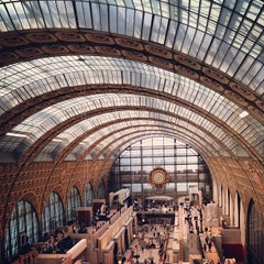 Photo taken at Musée d'Orsay by Tina on 5/7/2013