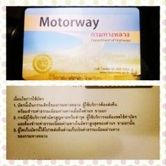 Photo taken at ทางหลวงพิเศษหมายเลข 7 (Motorway No. 7) by Manachai K. on 1/4/2014