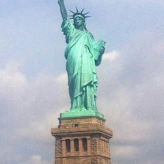 Photo taken at Statue of Liberty by Rob W. on 7/14/2013