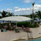 Photo taken at The Lake Lodge Pool & Beach by Steve W. on 10/21/2012