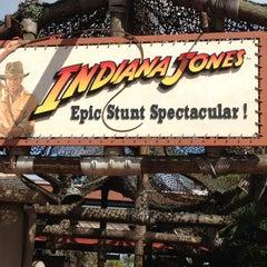 Photo taken at Indiana Jones Epic Stunt Spectacular! by Mark K. on 4/28/2013