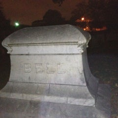 Photo taken at Odd Fellows Cemetery by Nick B. on 10/27/2012