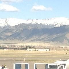 Photo taken at Bozeman Yellowstone International Airport (BZN) by Justine B. on 4/29/2013