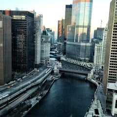 Photo taken at Sheraton Chicago Hotel & Towers by Dean S. on 1/4/2013