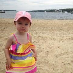 Photo taken at Barlow's landing beach by Lindsey C. on 6/16/2013