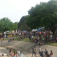 Photo taken at Denton Arts and Jazz Festival by Donavia D. on 4/26/2014