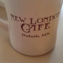 Photo taken at New London Cafe by Jonathan C. on 11/23/2012