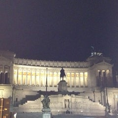 Photo taken at Altare della Patria by Pavel on 11/8/2012