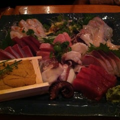 Photo taken at Okoze Sushi by Satoru on 7/27/2013