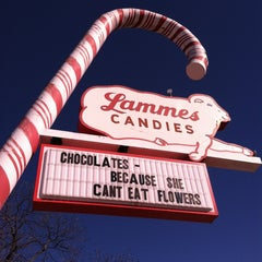 Photo taken at Lammes Candies by Crystal B. on 1/31/2013