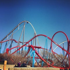 Photo taken at PortAventura Park by Tati G. on 3/31/2013