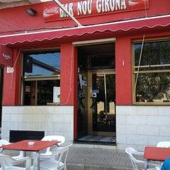 Photo taken at Bar Nou Girona by Oscar P. on 3/30/2013