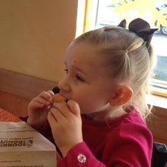Photo taken at Dunkin' Donuts by Vanessa on 1/27/2013