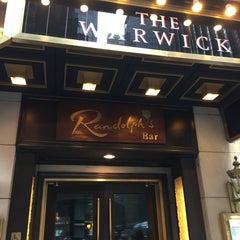 Photo taken at Randolph's Bar & Lounge by Alan C. on 4/25/2015