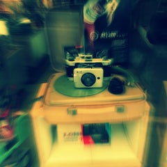 Photo taken at Lomography Gallery Store by Daini W. on 3/24/2013