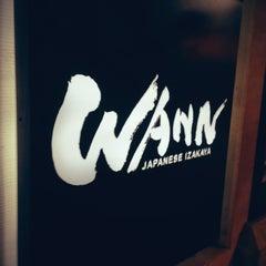 Photo taken at Wann Japanese Izakaya by Daniel on 10/14/2012