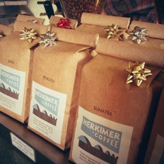 Photo taken at Herkimer Coffee by Daniel on 12/8/2012