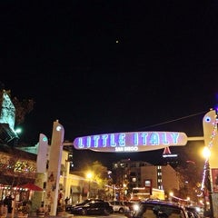 Photo taken at Little Italy by Daniel on 1/1/2013