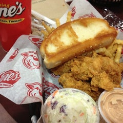 Photo taken at Raising Cane's Chicken Fingers by Steve on 12/9/2012