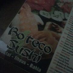 Photo taken at Boteco Sushi by Adriana M. on 6/2/2013