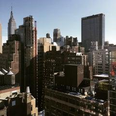Photo taken at Fairfield Inn & Suites New York Manhattan/Times Square by Sasha🎸 S. on 2/27/2015