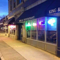 Photo taken at King and I by Dan W. on 2/2/2013
