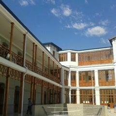 Photo taken at Liceo De Aplicación A-9 by Ingel A. on 10/28/2012
