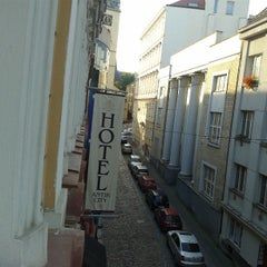 Photo taken at Antik City Hotel Prague by Roman T. on 7/23/2013