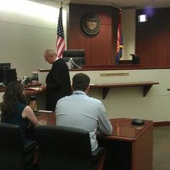 Photo taken at Superior Court of Arizona (Northeast Regional Center) by Pierce G. on 10/6/2012